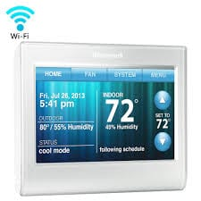 WIFI 9000 COLOR TOUCHSCREEN THERMOSTAT