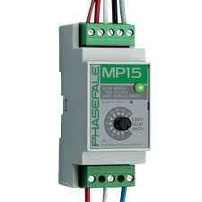 Phasefale MP15 Motor protection din rail