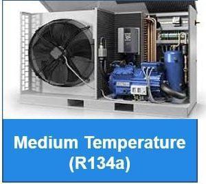Medium Temperature - R134a - Outdoor