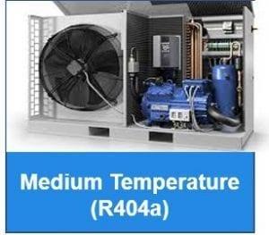 Medium Temperature - R404a - Outdoor