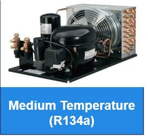 Medium Temperature - R134a - Indoor
