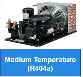 Medium Temperature - R404a - Indoor