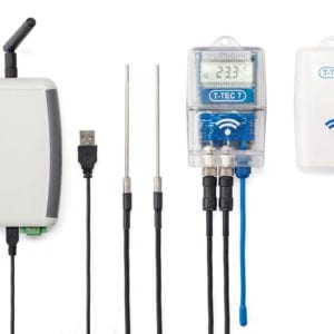 T-TEC Wireless Data Logger Sensors