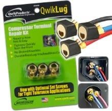 QwikLug Compressor Terminal Repair Kit