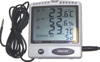 HLP Desktop Temperature & Humidity Display & Data Logger
