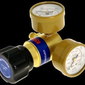 Tesuco Regulator for Disposable Cylinders