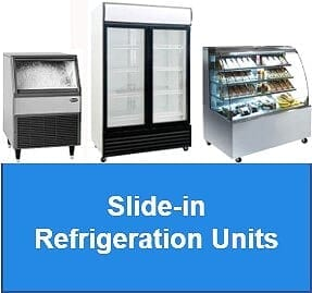 Slide-in Refrigeration Units
