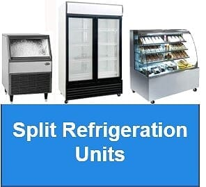 Split Refrigeration units