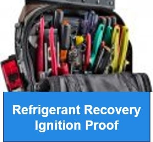 Refrigerant Recovery - Ignition Proof